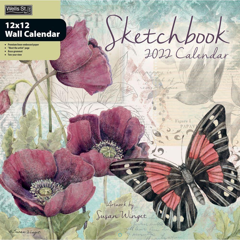 Sketchbook 2022 Wall Calendar
