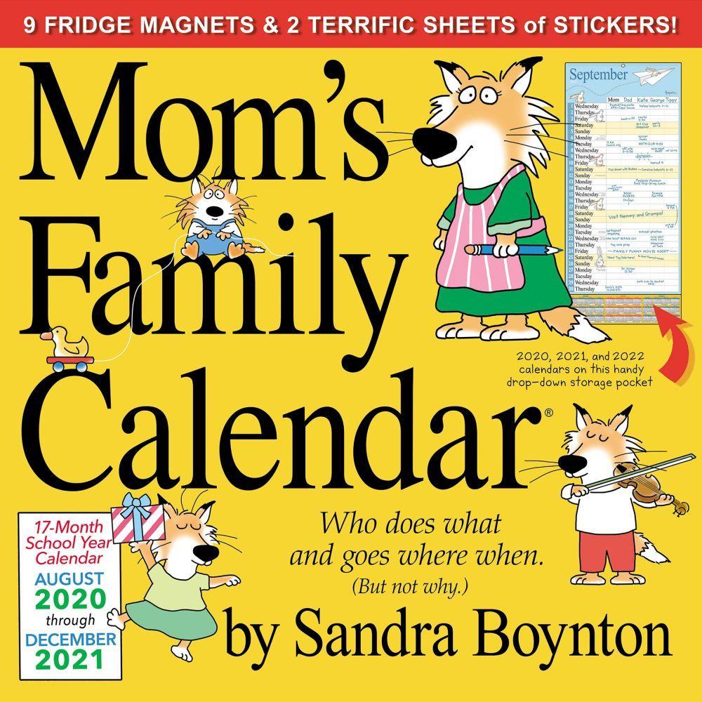2021 Moms Family Wall Calendar