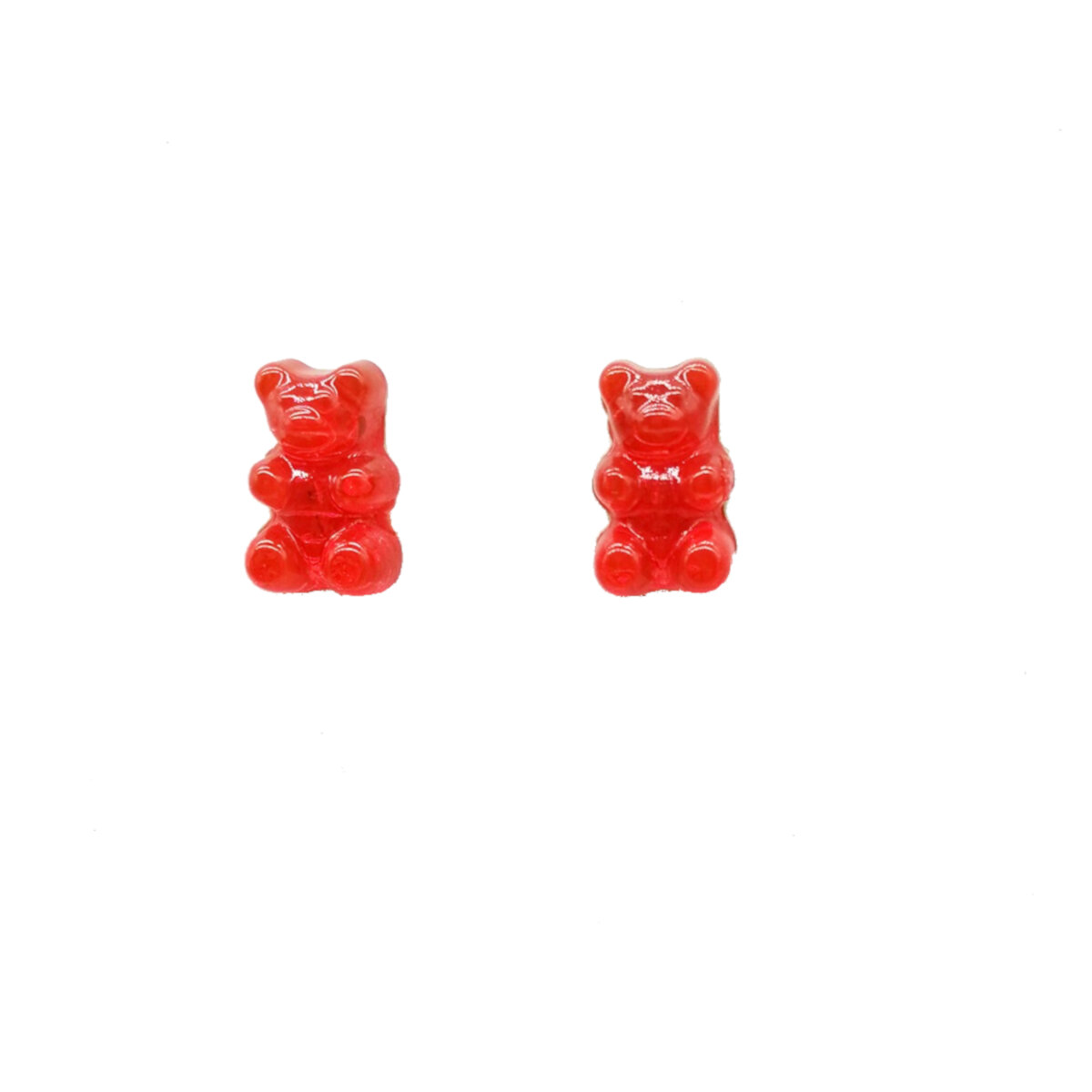 image Gummy-Bear-Red-Earrings-Main-Image
