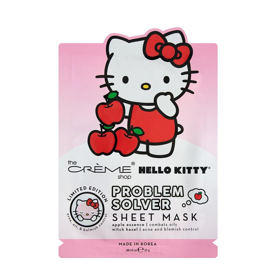 image Hello Kitty Problem Solver Hydrating and Cooling Facial Mask