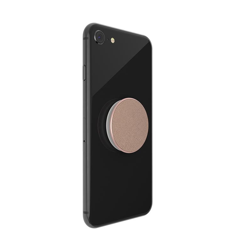 Saffiano-Rose-Gold-Popsocket-Second-Alternate-Image