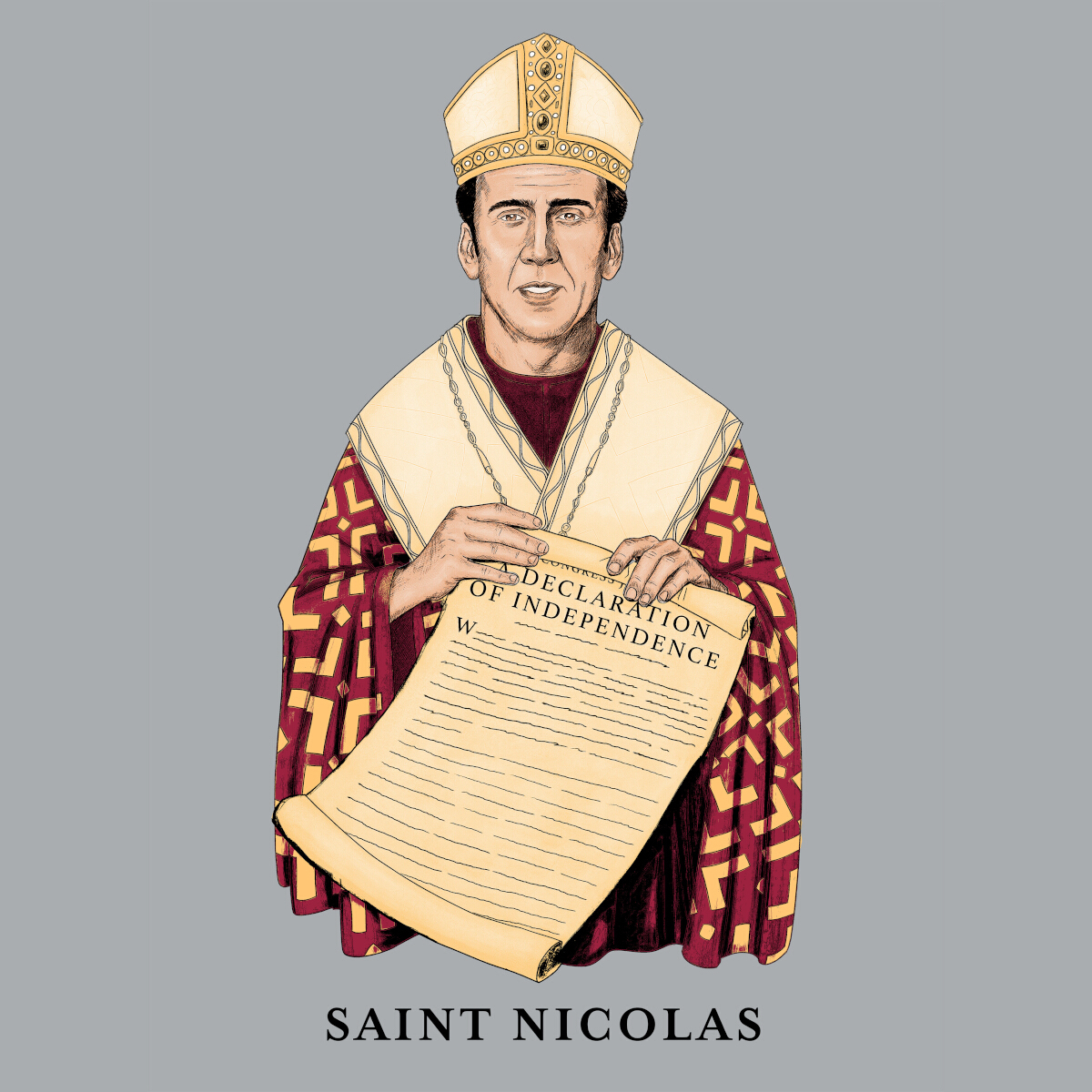 Saint-Nicolas-Graphic-Tee-Main-Image