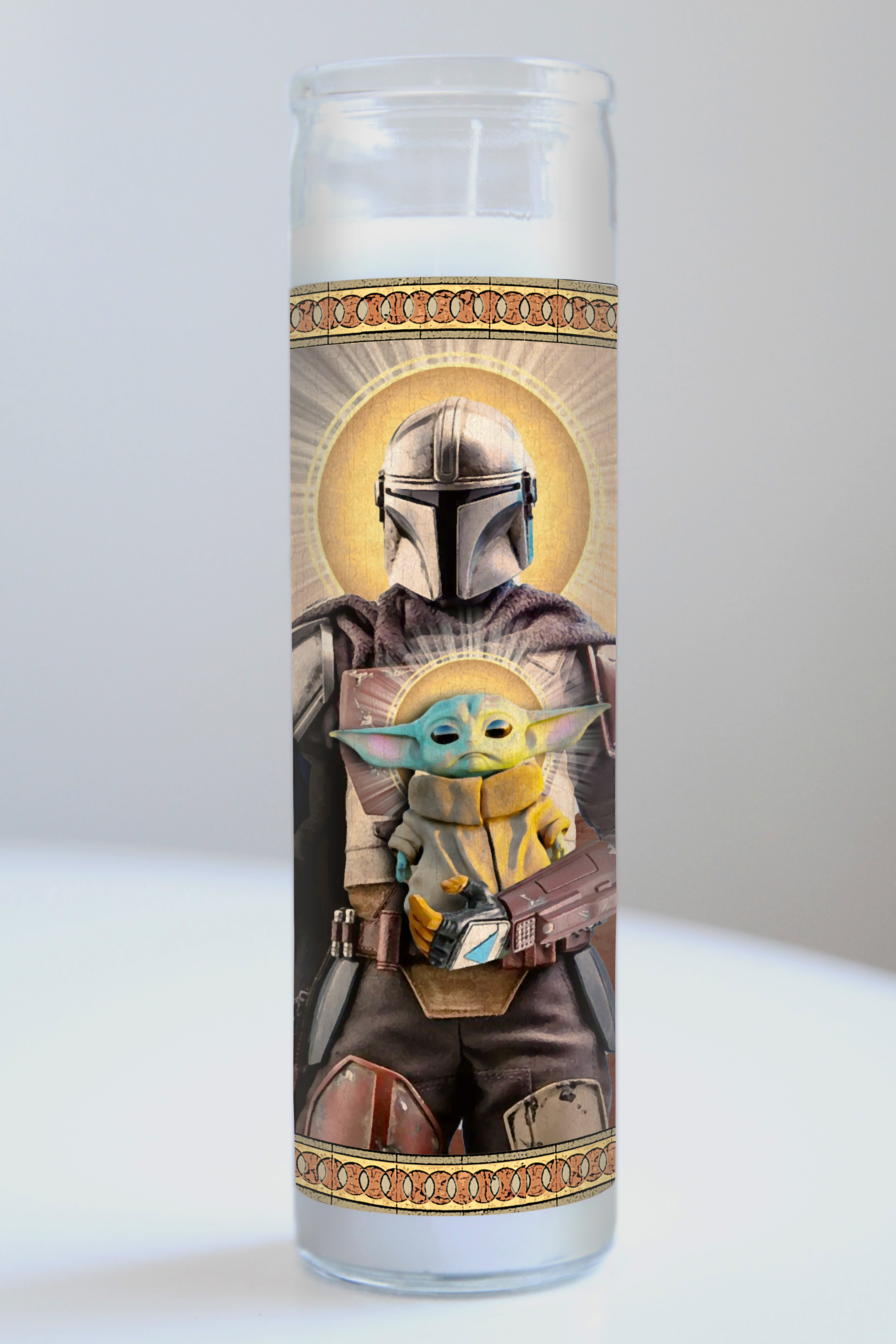 image Mandalorian Prayer Candle