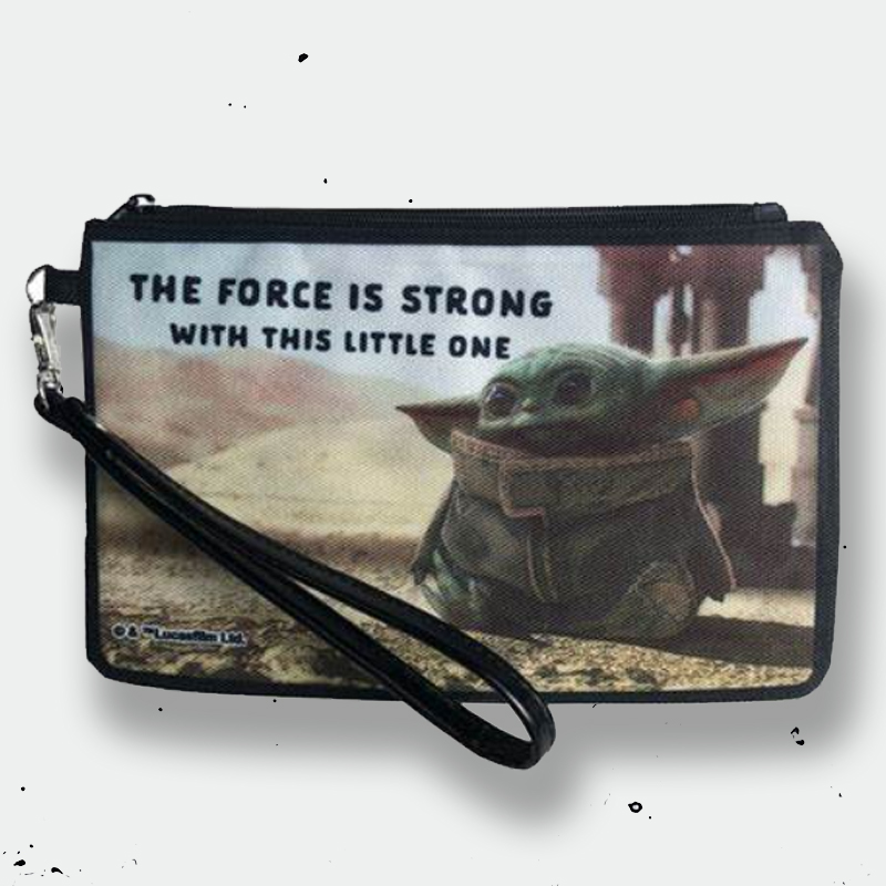 image The Child, The Force is Strong Wristlet