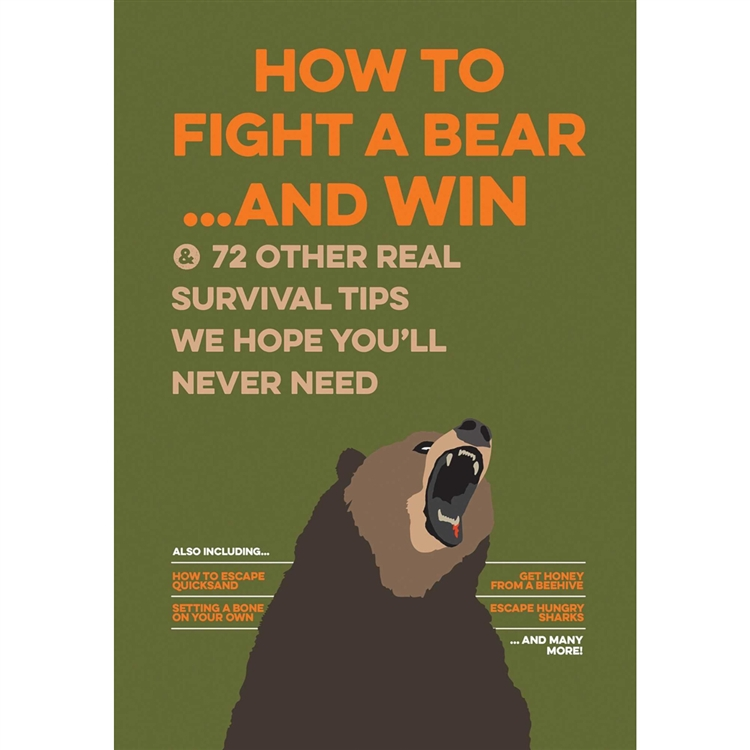 image HOW TO FIGHT A BEAR AND WIN