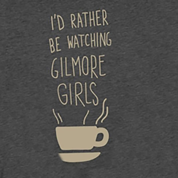 image Rather Watch Gilmore Tee