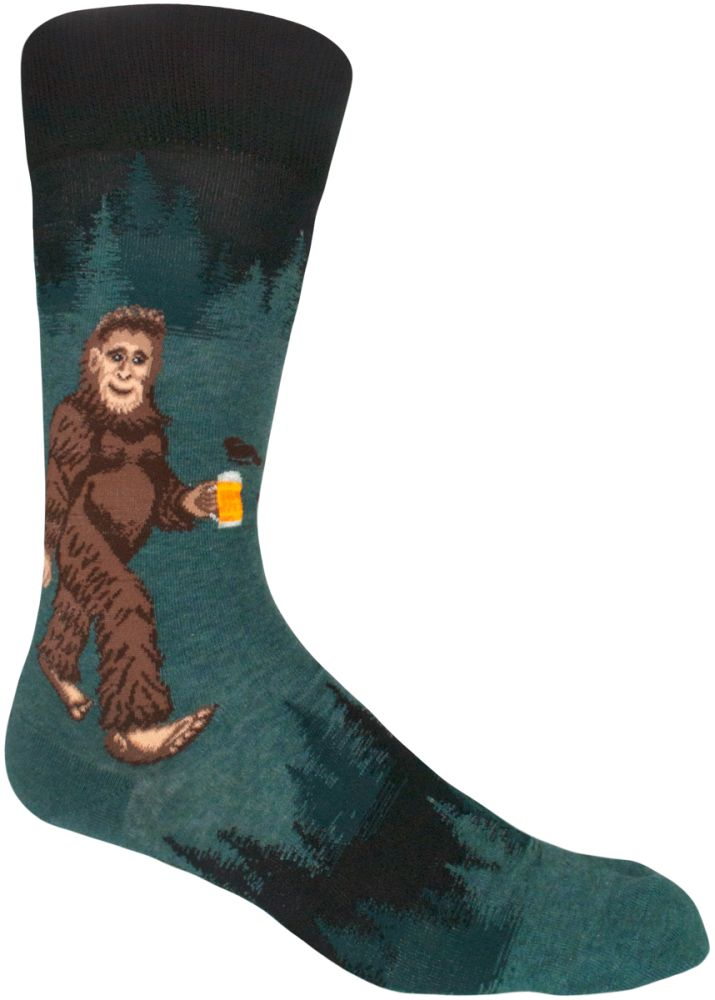image Saquatch-Loves-Beer-Socks-Main-Image
