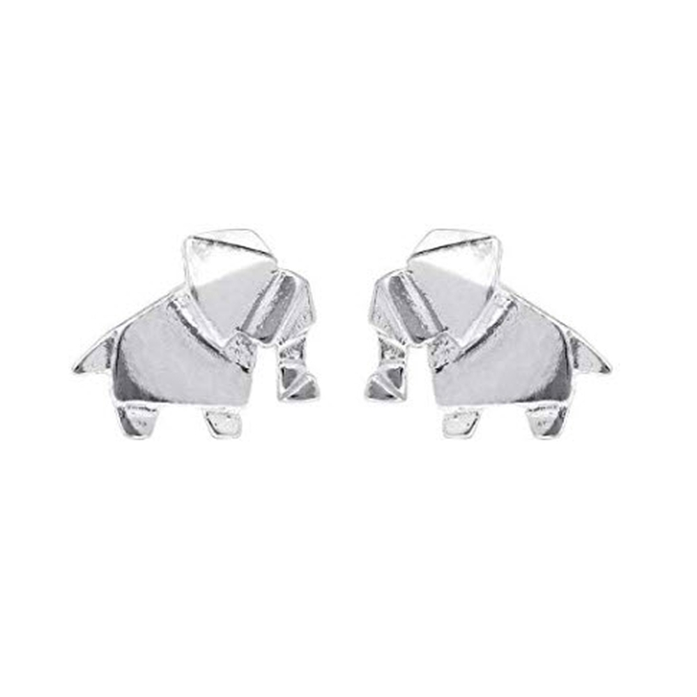 Abstract-Elephant-Stud-Earrings-Main-Image