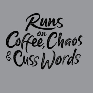 Coffee-Chaos-Graphic-Tee-Main-Image