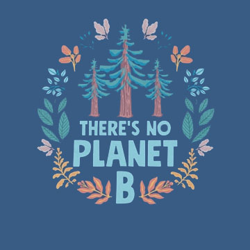 image There-Is-No-Planet-B-Graphic-Tee-Main-Image
