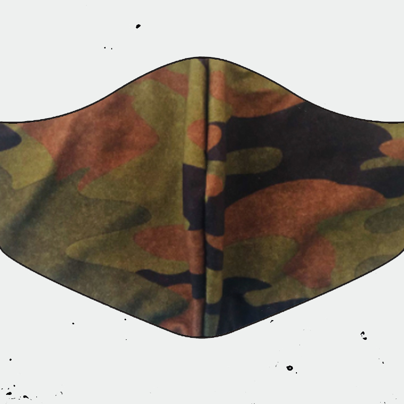 image Shaken Not Stirred Face Mask (Traditional Camo)