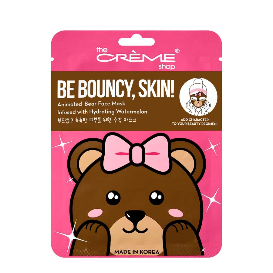 image Bear Be Bouncy Hydrating and Cooling Facial Mask