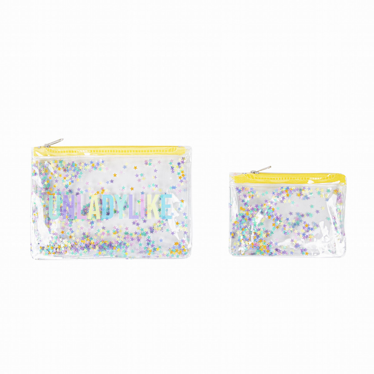 image 2Pc-Unladylike-Confetti-Pouch---Exclusive-Main-Image