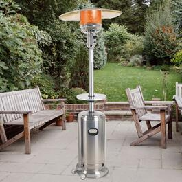 Dyna-Glo Stainless Steel Table for Patio Heater