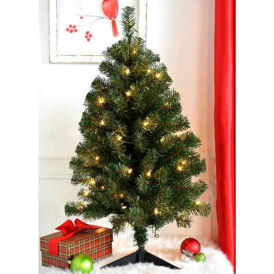 Danson Décor Lighted Tree - 3ft