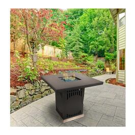 Pleasant Hearth Halifax Gas Fire Pit Table