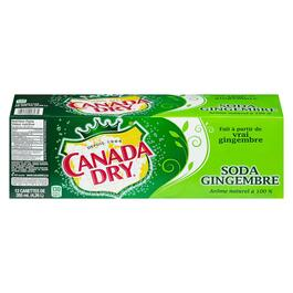 Canada Dry Ginger Ale 12pk. - 355ml