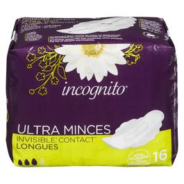 Incognito® U-thin Regular with Wing - 16pk.