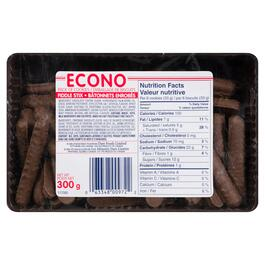 Econo Fiddle Stix Cookies - 300g