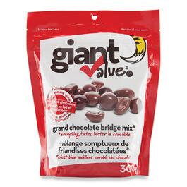 Giant Value Chocolate Cover Bridge Mix - 300g