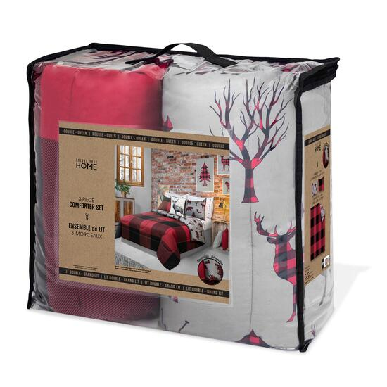 Safdie & Co. Double/Queen Premium Comforter Set - 3pc.