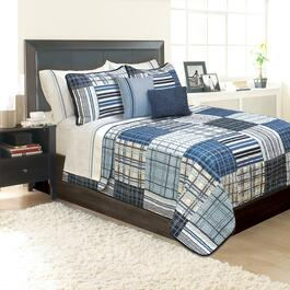 Safdie & Co. Duncan Twin Premium Quilt Set - 2pc.