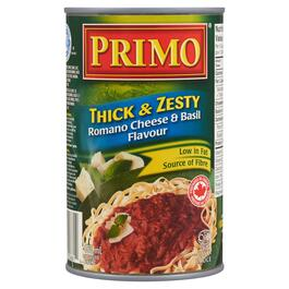 Primo Thick and Zesty Romano Cheese and Basil Pasta Sauce - 680ml