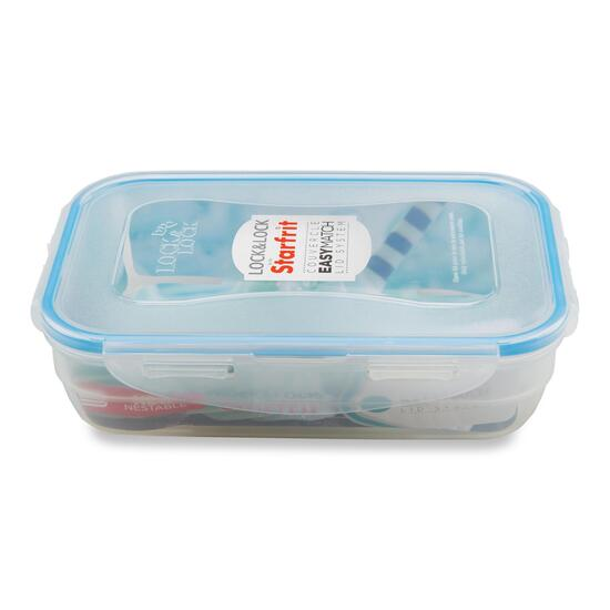 Lock & Lock Rectangular Plastic Container - 850ml
