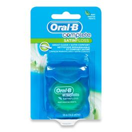 Oral-B Complete Satin Mint Floss - 50m