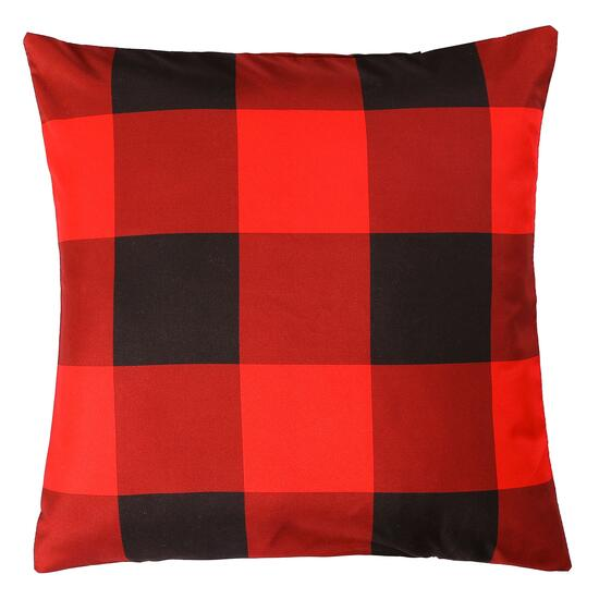 Millano Red Buffalo Printed Cushion - 18in.