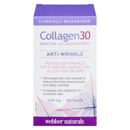 Webber Naturals Collagen30 2500 mg - 180 Tablets