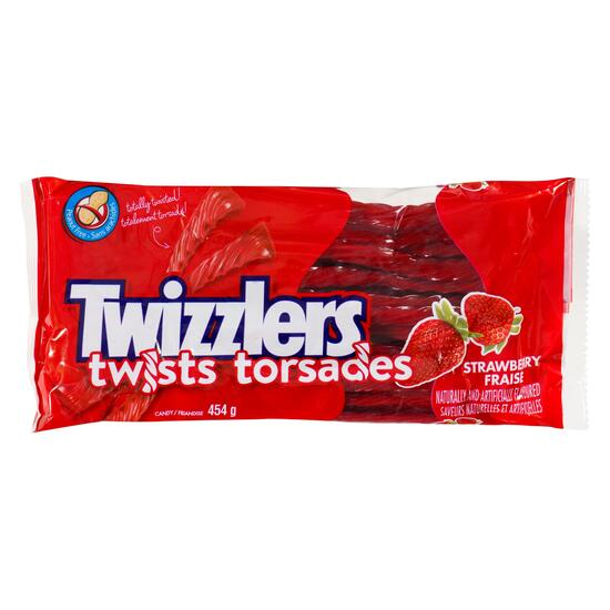 Twizzlers Strawberry Licorice - 454g