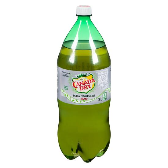 Canada Dry Diet Ginger Ale - 2L