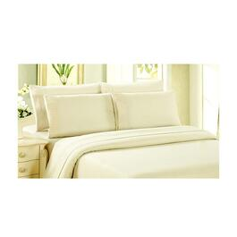 Bamboo Living Duvet Cover Set - Ivory