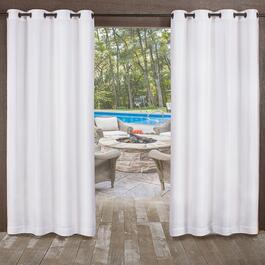 Exclusive Home Miami Textured Indoor/Outdoor Curtains 2pc. - 84in.