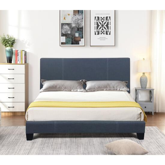 Valencia Black Queen Bed Frame