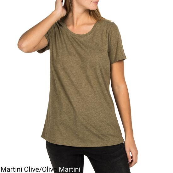 mySTYLE Women's Relaxed Fashion Scoop Neck Tee - S-XL