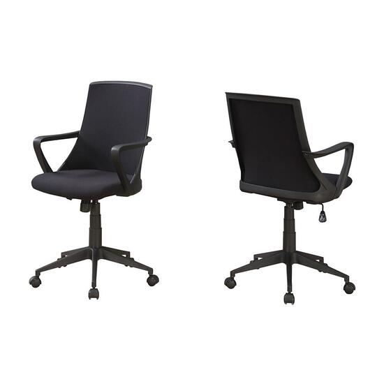 Monarch Specialties Office Chair - Black