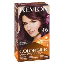 Revlon ColourSilk Beautiful Colour Burgundy - No. 34