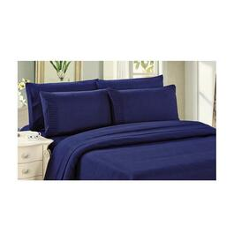 Bamboo Living  Duvet Cover Set - Navy Blue