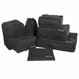 Nicci Black Luggage Organizer Set - 7pc.