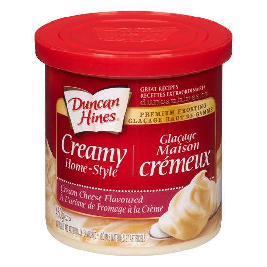 Duncan Hines Premium Creamy Cream Cheese Flavoured Frosting - 450g