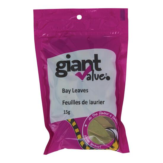 Giant Value Bay Leaves - 15g