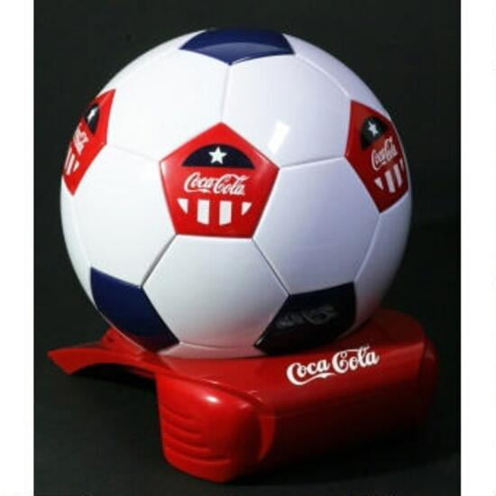 Koolatron Coca-Cola 4L Soccer Ball Cooler - Holds 5 x 355ml Cans