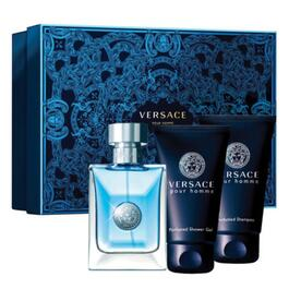 Pour Homme by Versace Gift Set for Men - 3pc.