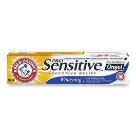 Arm & Hammer Sensitive Whitening Toothpaste - 120ml