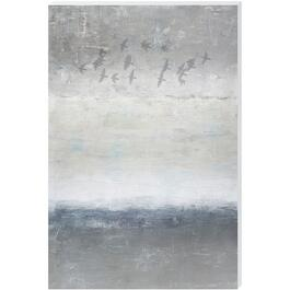 Bird Silhouette Canvas Art - 24in. x 36in.