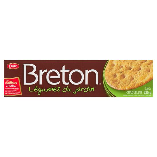 Breton Crackers Garden Vegetable - 225g