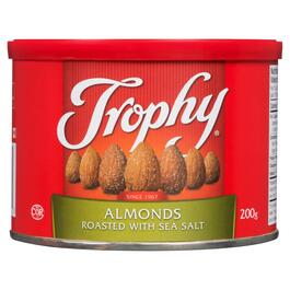 Trophy Roasted Almonds with Sea Salt - 200g