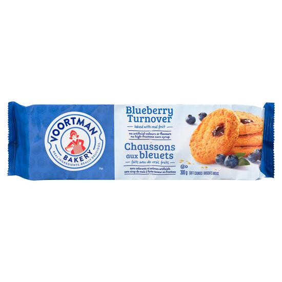 Voortman Bakery Blueberry Turnover Soft Cookies - 300g